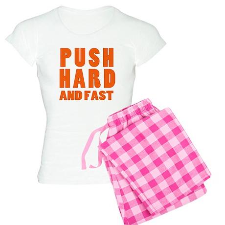 Push Hard And Fast CPR Shirt Women's Light Pajamas