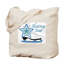 Skating Star Ice Skate Tote Bag