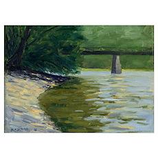 Delaware River Poster