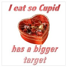 Cupid's Target Poster
