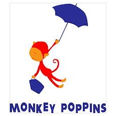 Monkey Poppins Poster