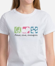 Peace, Love, Lhasapoos Tee