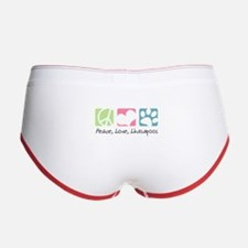 Peace, Love, Lhasapoos Women's Boy Brief