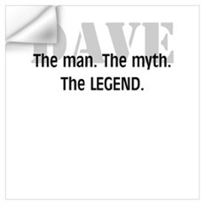 The Legend Wall Decal