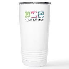 Peace, Love, Chiweenies Travel Mug