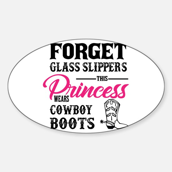 This Princess Wears Cowboy Boots Decal
