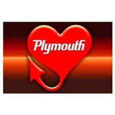 "Plymouth Heart - ""We'll Win You Over"" Poster"