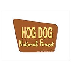 Hog Dog Poster