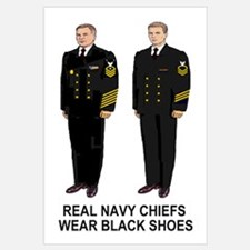 Real Navy Chiefs<BR> Print