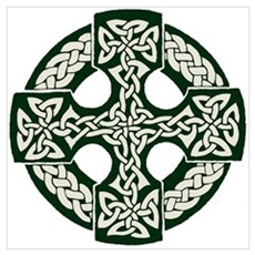 Celtic Cross Canvas Art