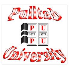 Pull-Tab University Poster