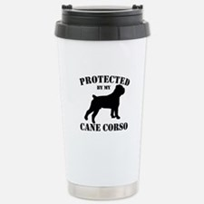Cane Corso Stainless Steel Travel Mug
