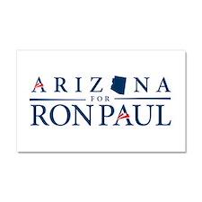Arizona for Ron Paul Car Magnet 20 x 12