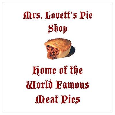 Mrs.Lovett's Pies Poster