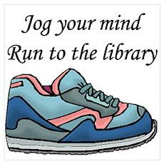 """""""Jog Your Mind"""" Poster"""