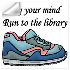 """Jog Your Mind"" Wall Decal"