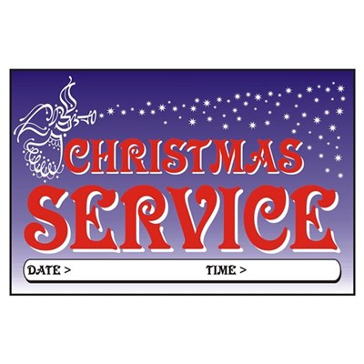 Christmas Service Poster