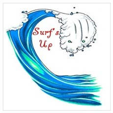 Surfs Up Poster