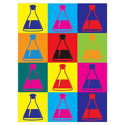 Biology Pop Art Poster