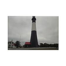 Tybee Island lighthouse 17 Rectangle Magnet