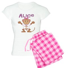 Little Monkey Alice Pajamas