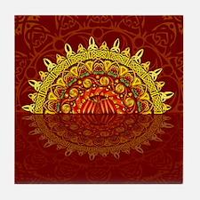 Celtic Dawn Tile Coaster