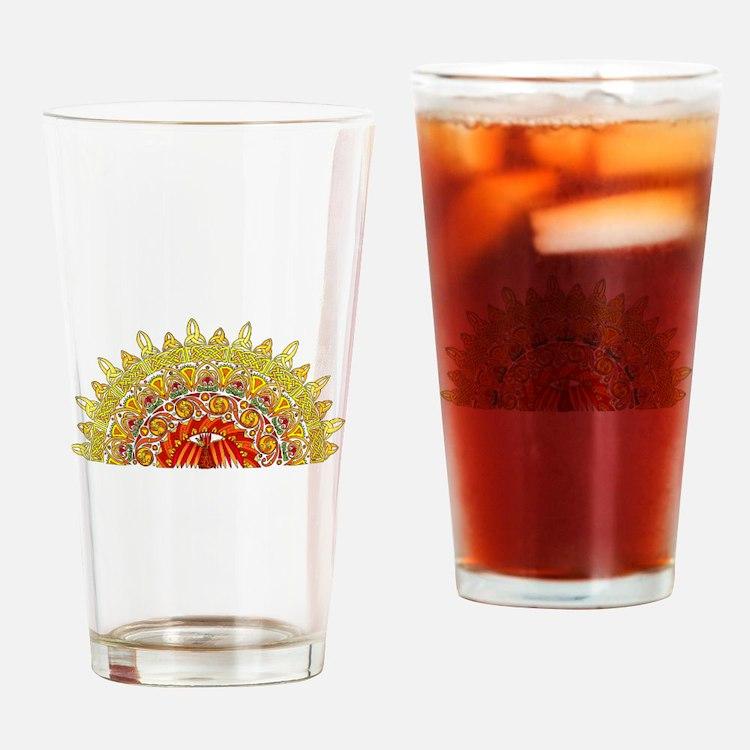 Celtic Dawn Drinking Glass
