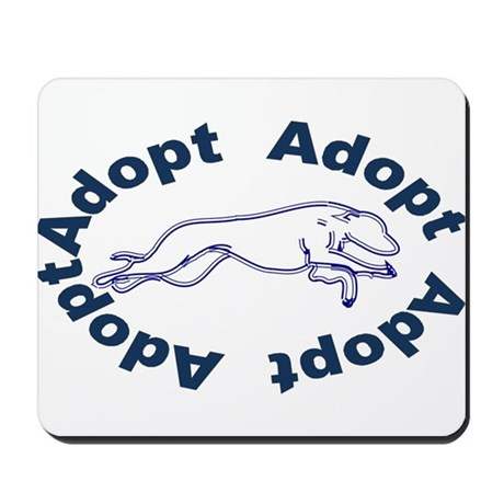 Adopt V2.0 Blue Mousepad