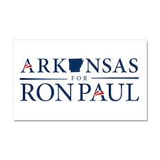 Arkansas for Ron Paul Car Magnet 20 x 12