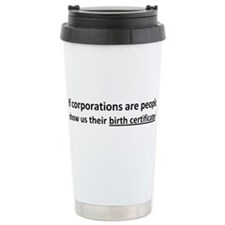 Corps: Birth Certificates! Travel Mug