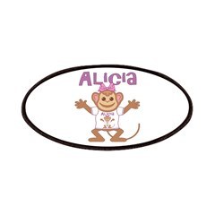 Little Monkey Alicia Patches