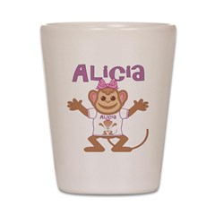 Little Monkey Alicia Shot Glass