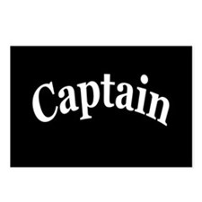 CAPTAIN Postcards (Package of 8)