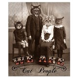 Cats Wrapped Canvas Art