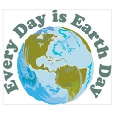 Earth Day Every Day Canvas Art
