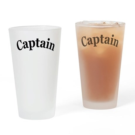 Captain Drinking Glass