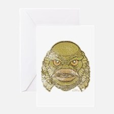 The Creature (Distressed) Greeting Card