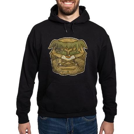Mr. Cyclops Twobrow (Distressed) Hoodie (dark)