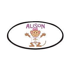 Little Monkey Alison Patches
