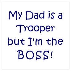 Trooper Boss Poster