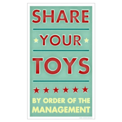 Share Your Toys Poster