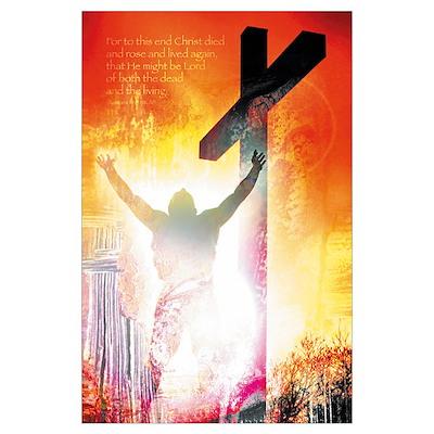 Christian : Jesus Christ is risen! Poster
