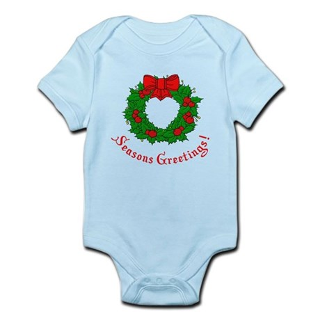 Seasons Greetings Infant Bodysuit