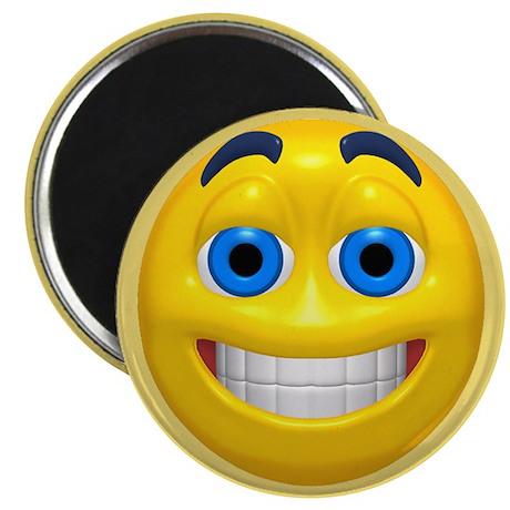 Smiling Smiley Face Magnet