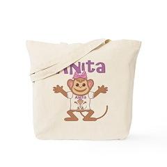 Little Monkey Anita Tote Bag