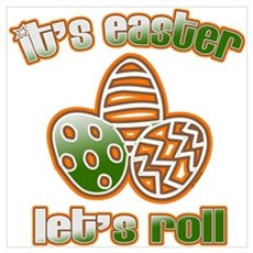 EASTER LET'S ROLL Poster