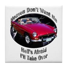 MGB Tile Coaster