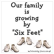 Growing by Six Feet Poster