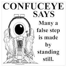 False Step Poster