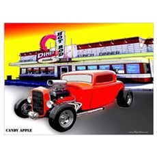 Candy Apple Poster
